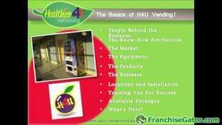 Healthier 4 U Vending Franchise Opportunity