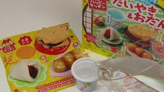 Happy Kitchen 'taiyaki And Odango' Diy Candy ~ たいやき&おだんご 知育菓子