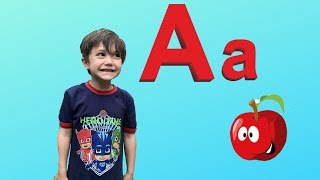 ABC Song Learn English Alphabet for Children with Zack!  ABC phonics Kids Nursery Rhymes