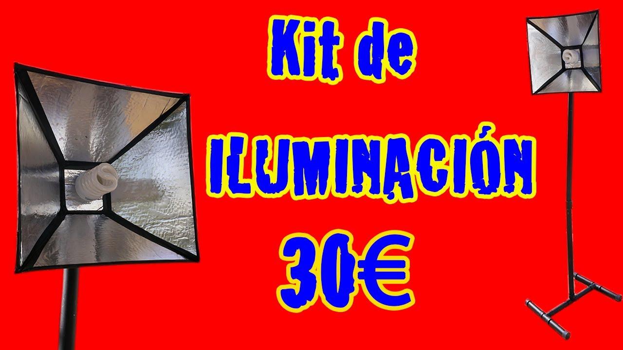 C mo construir kit de iluminaci n 30 aprox youtube for Kit para toldos de enrollar