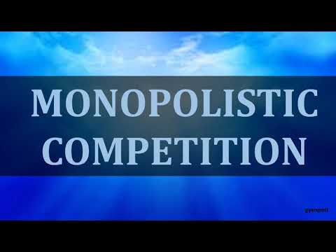 DIFFERENCE BETWEEN PERFECT COMPETITION AND MONOPOLISTIC COMPETITION