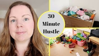 SPEED CLEAN IN 30 MINUTES || 30 MINUTE HUSTLE || COLLAB