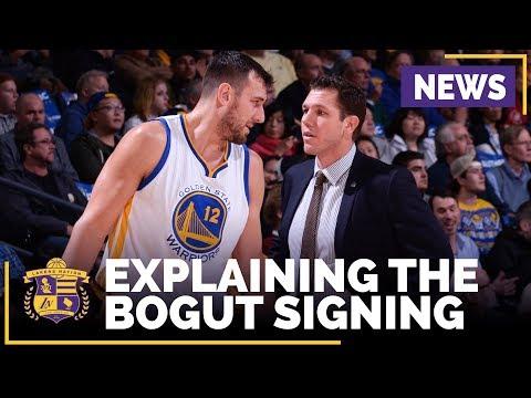 Luke Walton, Rob Pelinka Explain Lakers Signing Andrew Bogut