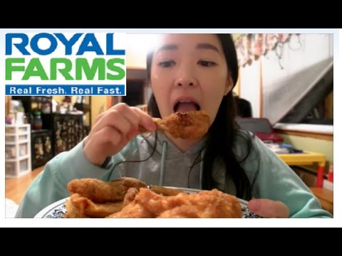 Fried Chicken Mukbang