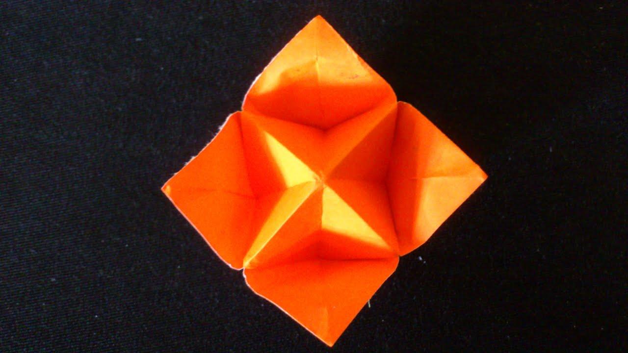 Cara Membuat Origami Bunga Sederhana Origami Bunga dan