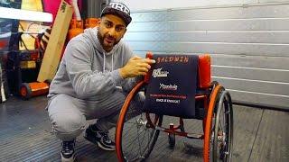Wheelchair Customised for GB Paraclimbing Champion Hannah Baldwin