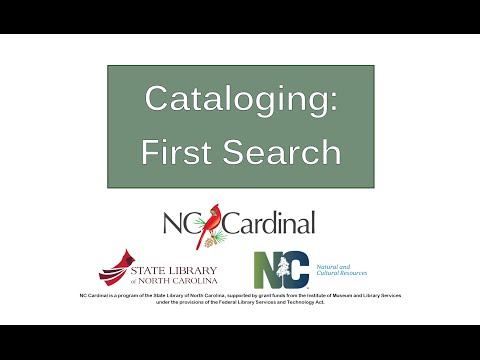 Cataloging Best Practices