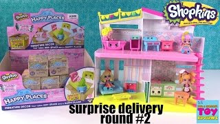 Happy Places Shopkins Surprise Delivery Happy Home Let's Decorate #2 Opening | PSToyReviews