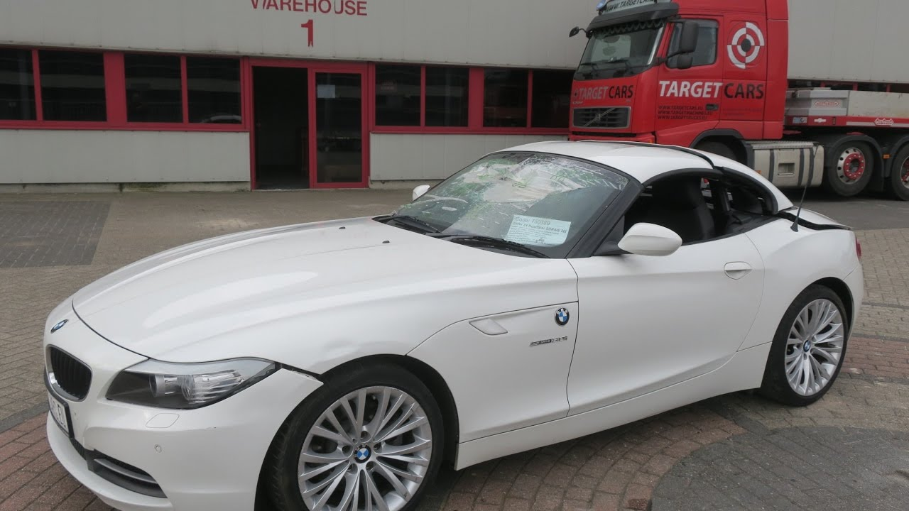 750389 Bmw Z4 Roadster Sdrive30i Aut E89 Cabrio 258hp 08 09 White