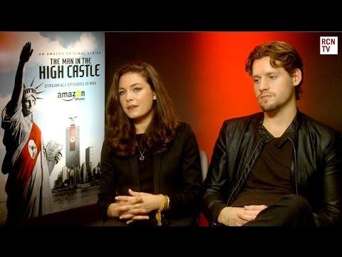 Alexa Davalos Interview The Man In The High Castle