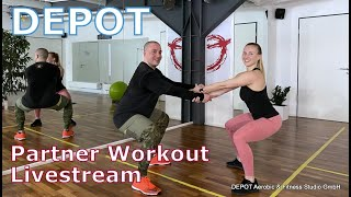 DEPOT Partner Workout Livestream