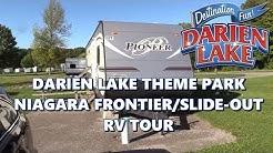 Darien Lake: Niagara Frontier/Slide-Out RV Trailer Tour