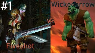 Fiveshot vs Wickedarrow: Classic WoW Argument #1 (Hunter Traps)
