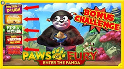 🐾 THE BIG PAWS OF FURY ONLINE SLOT CHALLENGE !!! 🐾