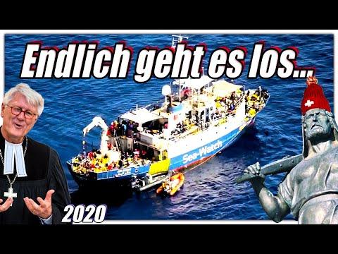 Seenot   Es wird wieder gerettet   Sea Watch 4 auf dem Weg nach Libyen