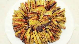 Хрустящий Картофель запеченный в духовке  / Roasted Crispy Potatoes Recipe