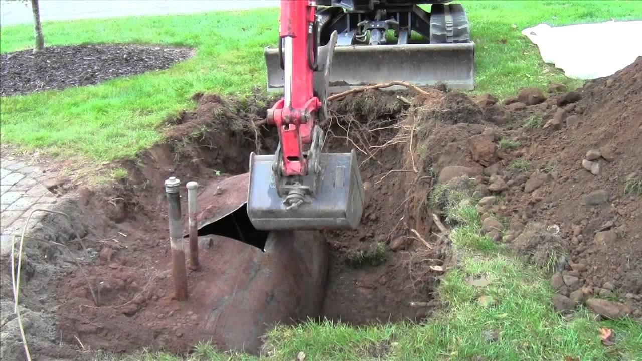 Oil Tank Demolition : Oil tank removal in easy steps youtube