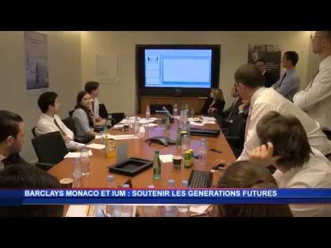 Barclays Monaco s'associe à l'IUM pour les générations futures