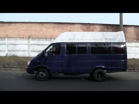 ГАЗЕЛЬ с двигателем ВАЗ 4 (тест драйв).
