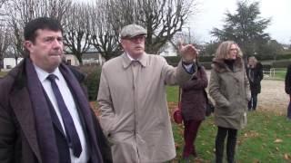Visite à Avallon (89) d'Éric HOULLEY, vice-président de région Bourgogne Franche-Comté