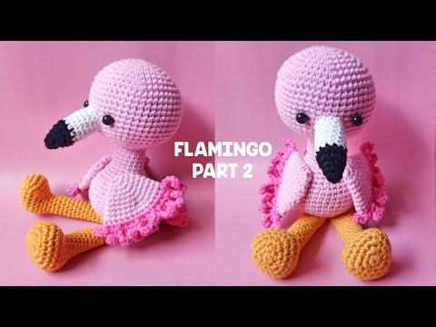 Amigurumi Flamingo Tarifi in 2020 | Kostenlos amigurumi muster ... | 360x480