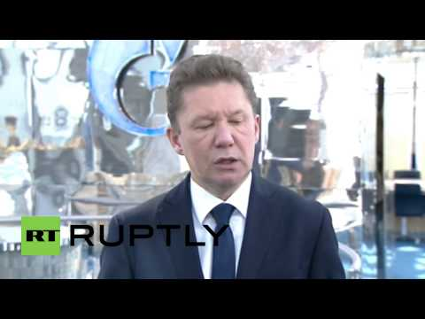 Russia: Gazprom's Miller confirms suspension of gas supplies to Ukraine