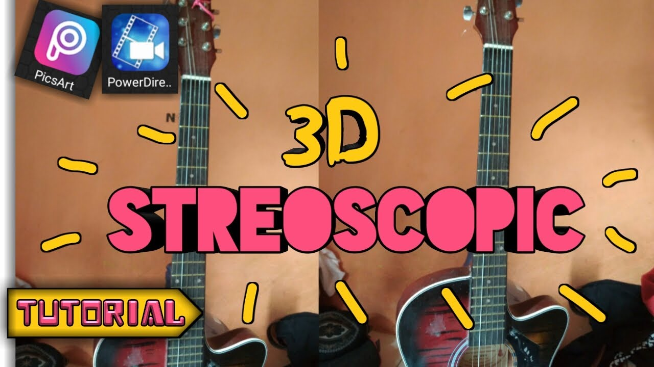Cara Edit Foto 3d Stereoscopic Seperti Yellow Claw Di Android