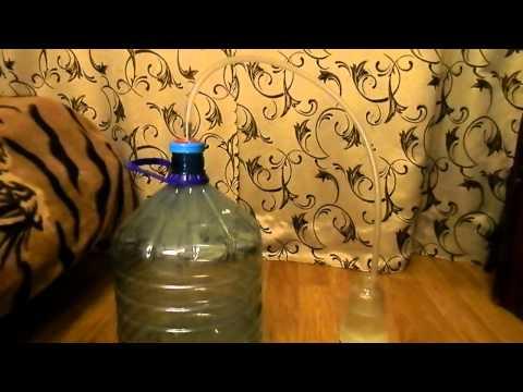 Гидрозатвор для брожения браги