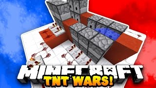 Minecraft RED VS BLUE TNT WARS! (Custom 1v1 Map) | w/PrestonPlayz & LandonMC