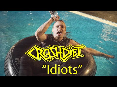 "Crashdiet - ""Idiots"" (Official Music Video) Mp3"