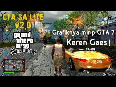 Gta Sa Lite V2 0 Gta V Hd Graphics Mod Apk Data Size 414 Mb