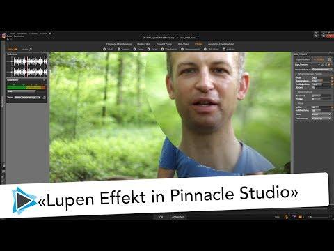 Lupen Effekt mit Pinnacle Studio 20 Video Tutorial Detusch