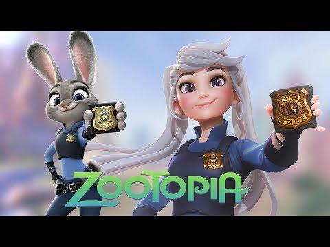 Así serían los personajes de Zootopia si fueran Humanos