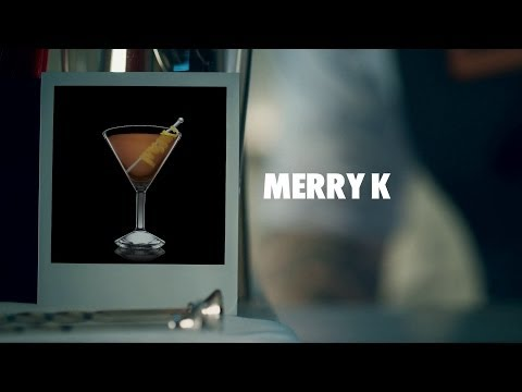 MERRY K DRINK RECIPE - HOW TO MIX