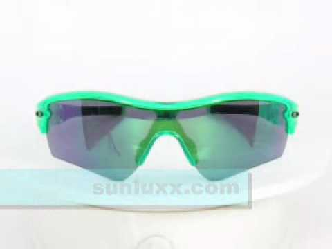 d5d3f647b5 Oakley Sunglasses Radar Path 24147 Anti-Freeze Jade Iridium.WMV - YouTube
