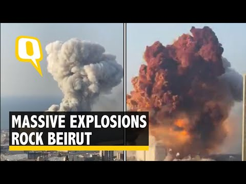 Massive warehouse explosion rocks Beirut, causing thousands of ...
