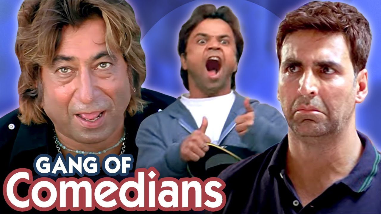 Gang of Comedians - Hindi Comedy Scenes - Bhagam Bhag - Phir Hera Pheri - Dhol - Welcome - Part 3