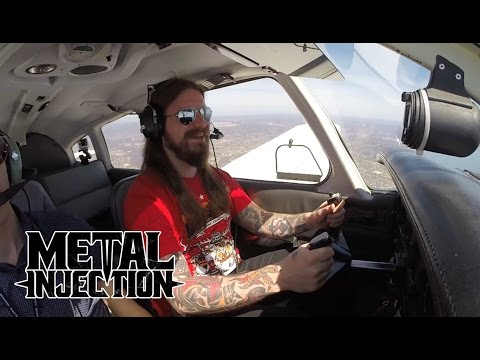 KVELERTAK Learns To Fly A Plane | Metal Injection