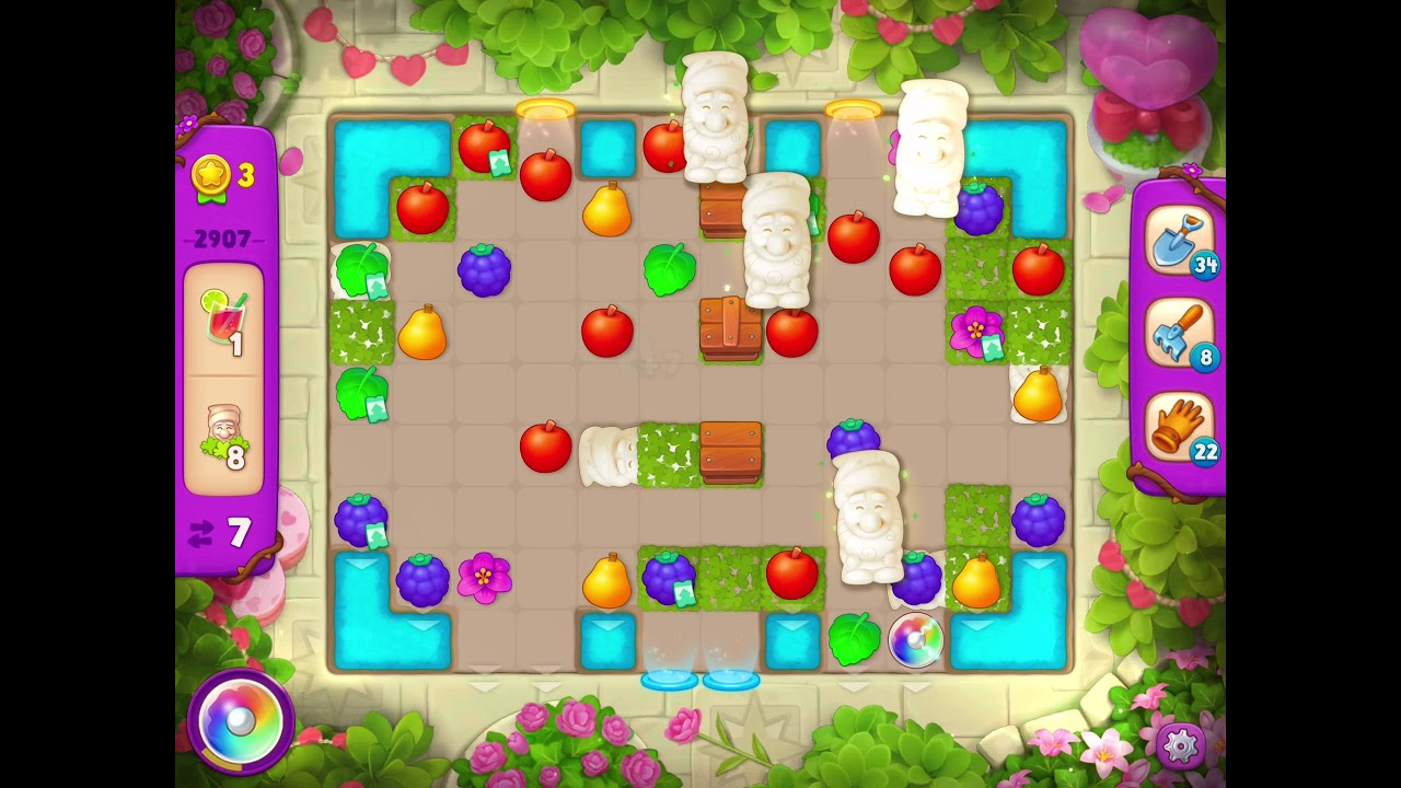 Download Gardenscapes Level 2907 With No Boosters - Super Hard Level
