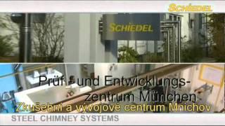 Výroba nerezových komínů Schiedel