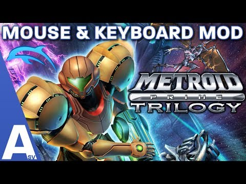 Metroid Prime Trilogy Mouse & Keyboard Mod! Tutorial, Review & Changes
