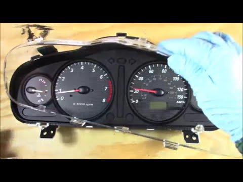 Broken Instrument Cluster Glass Removal, Replace, Install Overview