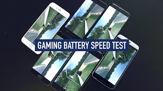 Smartphone Battery Test: iPhone 6S Plus v Galaxy S7 Edge v HTC 10 v LG G5 v Nexus 6P v OnePlus 3