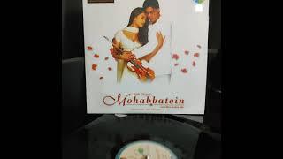 Aankhen Khuli (Mohabbatein) on Vinyl LP Record ❤️🎉 #jatinlalit #shahrukh #uditnarayan #aishwarya 💖🎊