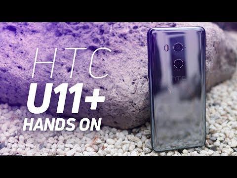 HTC U11 Plus hands on (HTC U11+)