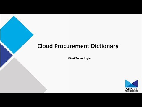 Cloud Procurement Dictionary - Public Cloud #2