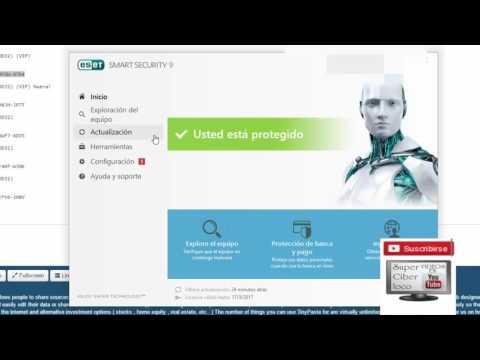 Activar Licencia en Eset 9 [2017] Claves Gratis para todas las versiones de ESET