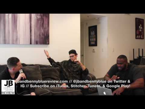Stanaj (Lava/Universal Republic) Talks Musical Influences & Great Hair w/ JB & Benny Blue Review!