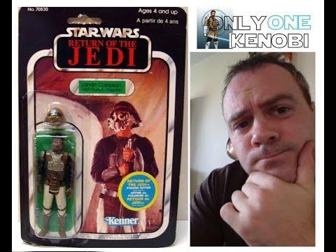 "Vintage 1980 S KENNER Star Wars Empire Strikes Back skiffguard Lando Calrissian figurine 4/"""