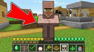 Minecraft - HOW to play VILLAGER MINECRAFT in Minecraft NOOB ZOMBIE vs PRO VILLAGER Animation